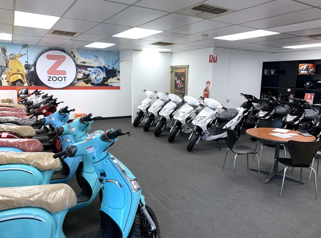 Zoot Scooter showroom